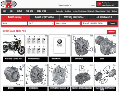 Make sure you always have in store Kawasaki original parts